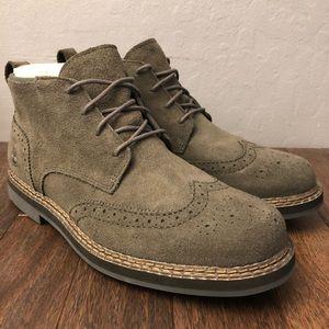Timberland Wingtip Chukka suede boots